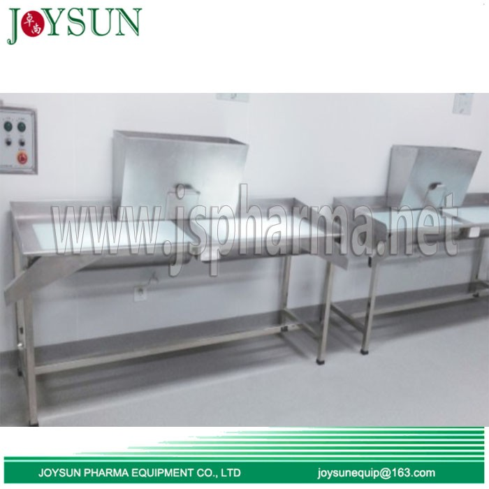 Seamless-softgel-inspection-table