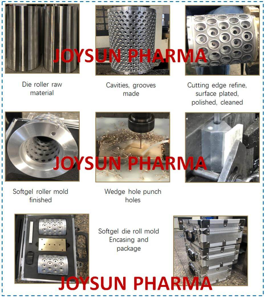 Softgel-Encapsulation-Mold-Process