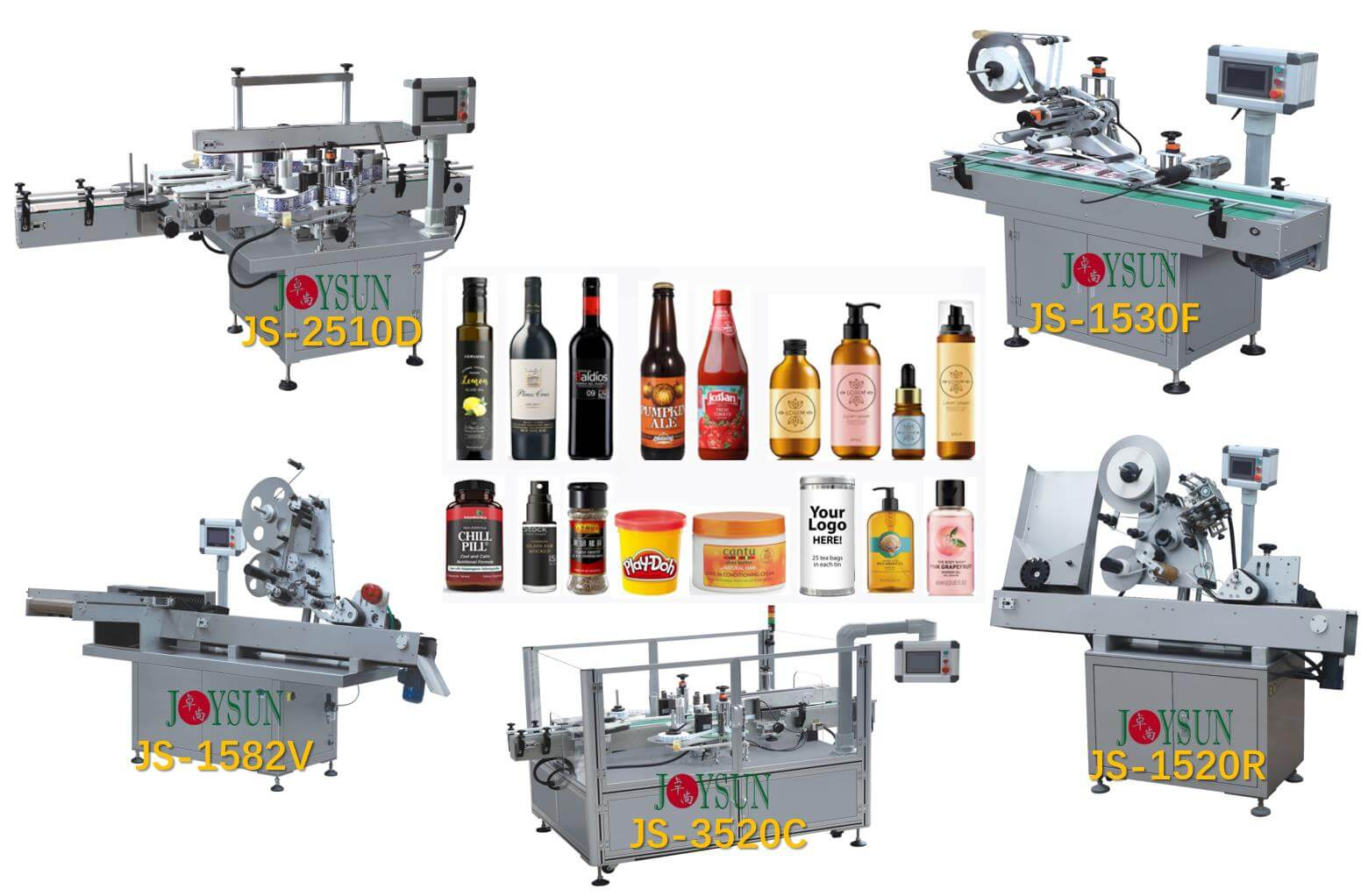Sticker-Labeling-Machine