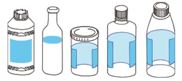 round-bottle-labelling-machine