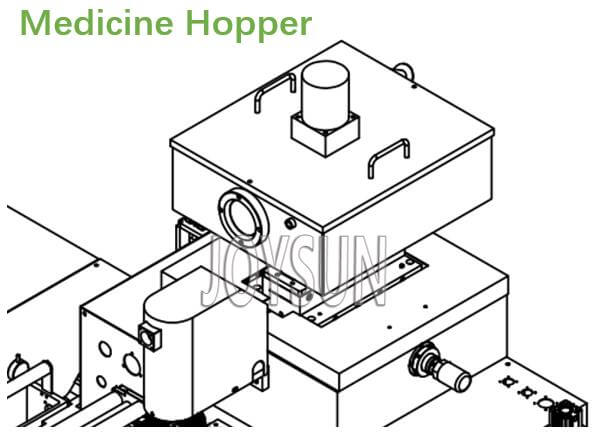 softgel-machine-medicine-hopper