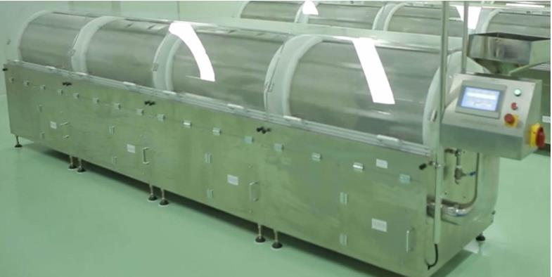 softgel-tumbler-dryer-for-capsule-drying